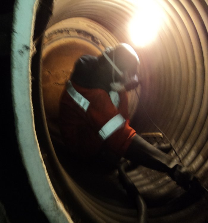 Boiler repairs & Piping systems